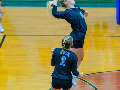 JH Rose volleyball wins second 5-set thriller in 4 days