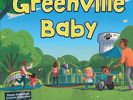 'Greenville Baby' promotes local childhood literacy