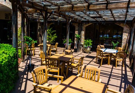 Lunch on the patio - Nino's Cucina Italiana