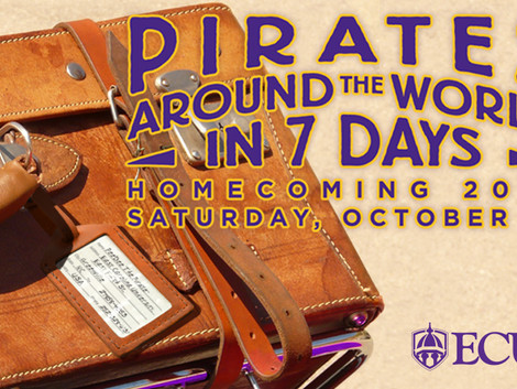 ECU Homecoming festivities planned for Oct. 20-21