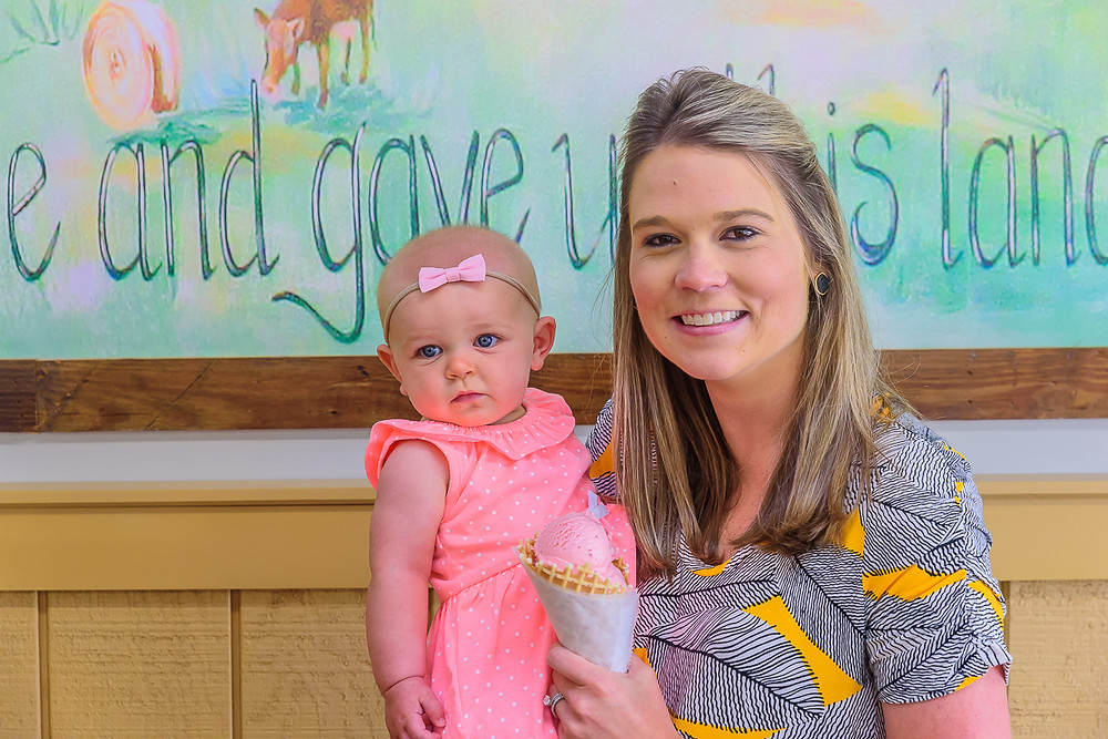 Holly Rollins, pictured with her daughter Allie, will operate the Greenville location with her husband, Justin.