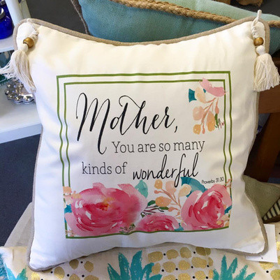 Servant's Heart Mom Pillow, Lilly Pulitzer Waterside Cosmetic Case in Flamingo Pink Southern Charm, $48, Pink Boutique [Click and drag to move]   $42.99, It's Sew Wright
