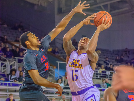 ECU MENS AND WOMENS BASKETBALL DOUBLEHEADER