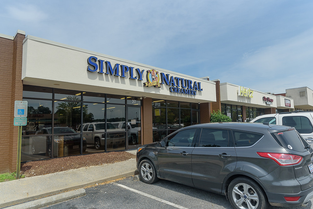 Simply Natural is at 317 Arlington Blvd.