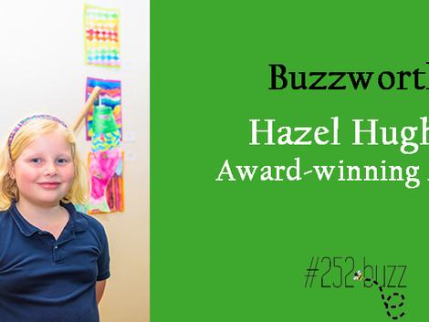 Hazel Hughes, Buzzworthy Award-winning artist