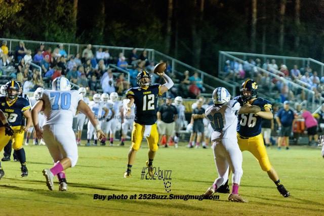 DH Conley High School quarterback Holton Ahlers