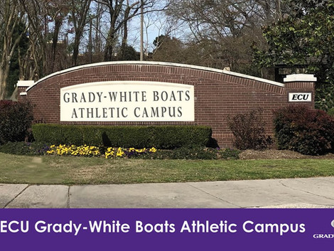 Grady-White Boats gives largest donation to ECU Athletics