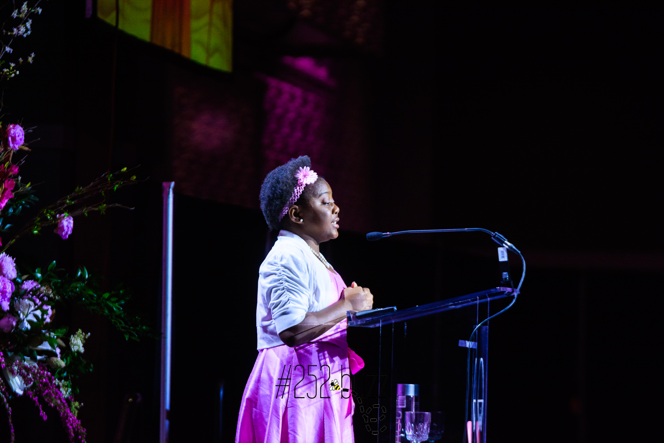 Adiyah Yisrael speaks at Power of the Purse luncheon