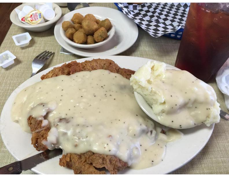 Mr Tims Country Fried Steak