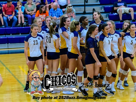 DH Conley volleyball picks up two wins; takes on South Central Oct. 12