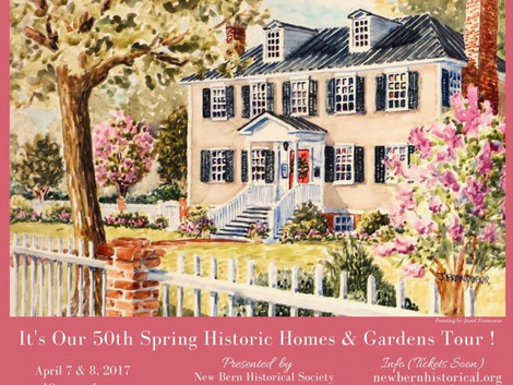 Historic New Bern homes and gardens open for tours April 7-8