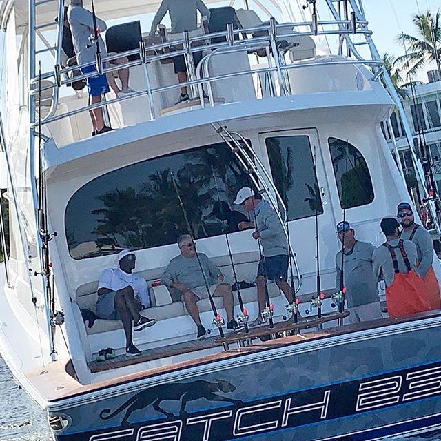 mj on boat