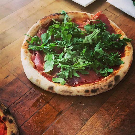Luna Pizza Cafe's Prosciutto & Arugula Pizza