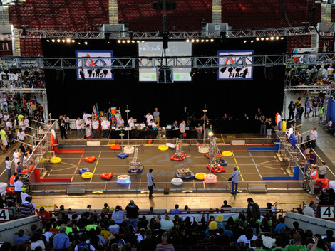 Students and robots set to compete in steam-powered challenges