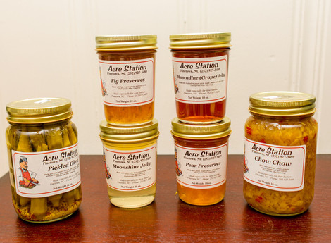 Hidden gem ... Acre Station's jellies, preserves and pickles