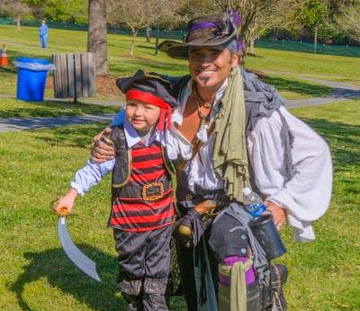 PirateFest brings costumed swashbucklers, Plain White T's to Greenville