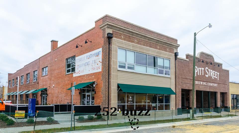Greenville's Luna Pizza Cafe on Pitt Street