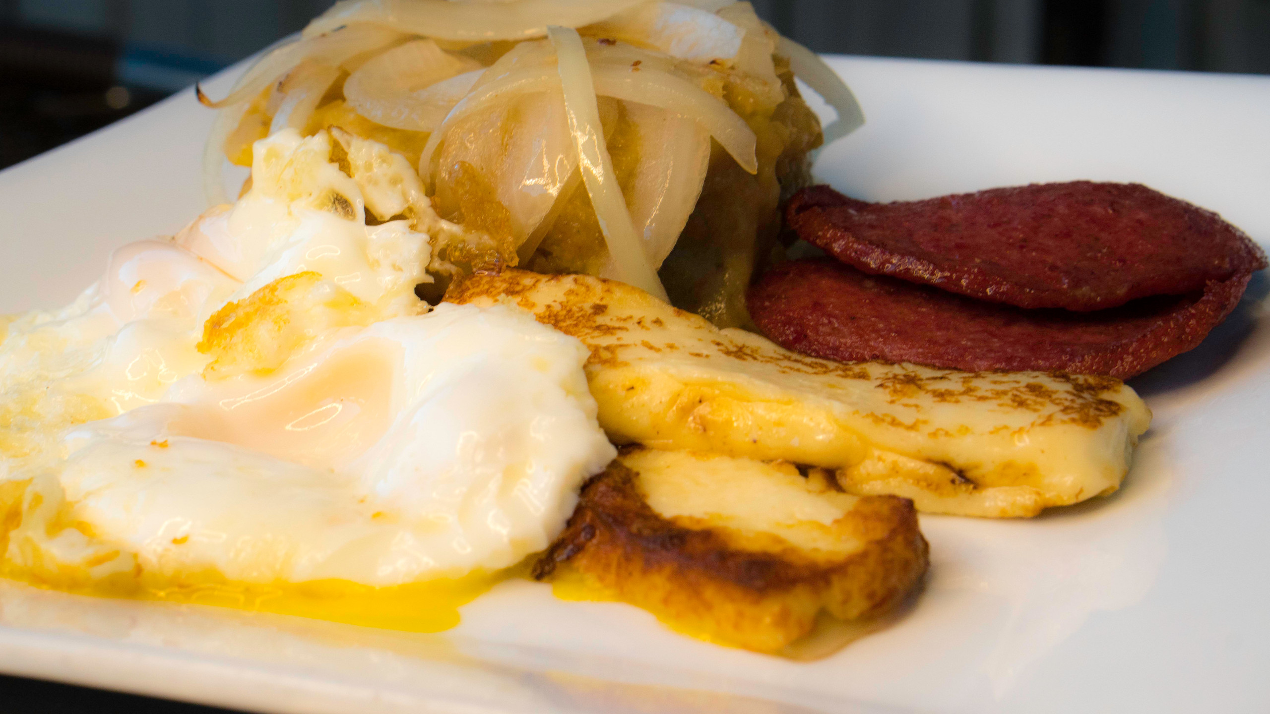 Mangu Dominican Breakfast