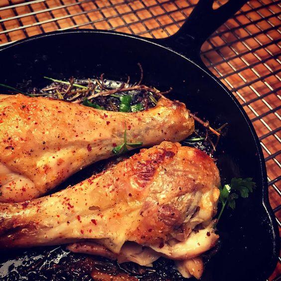 Luna Pizza Cafe's Fire Roasted Chicken Drumsticks