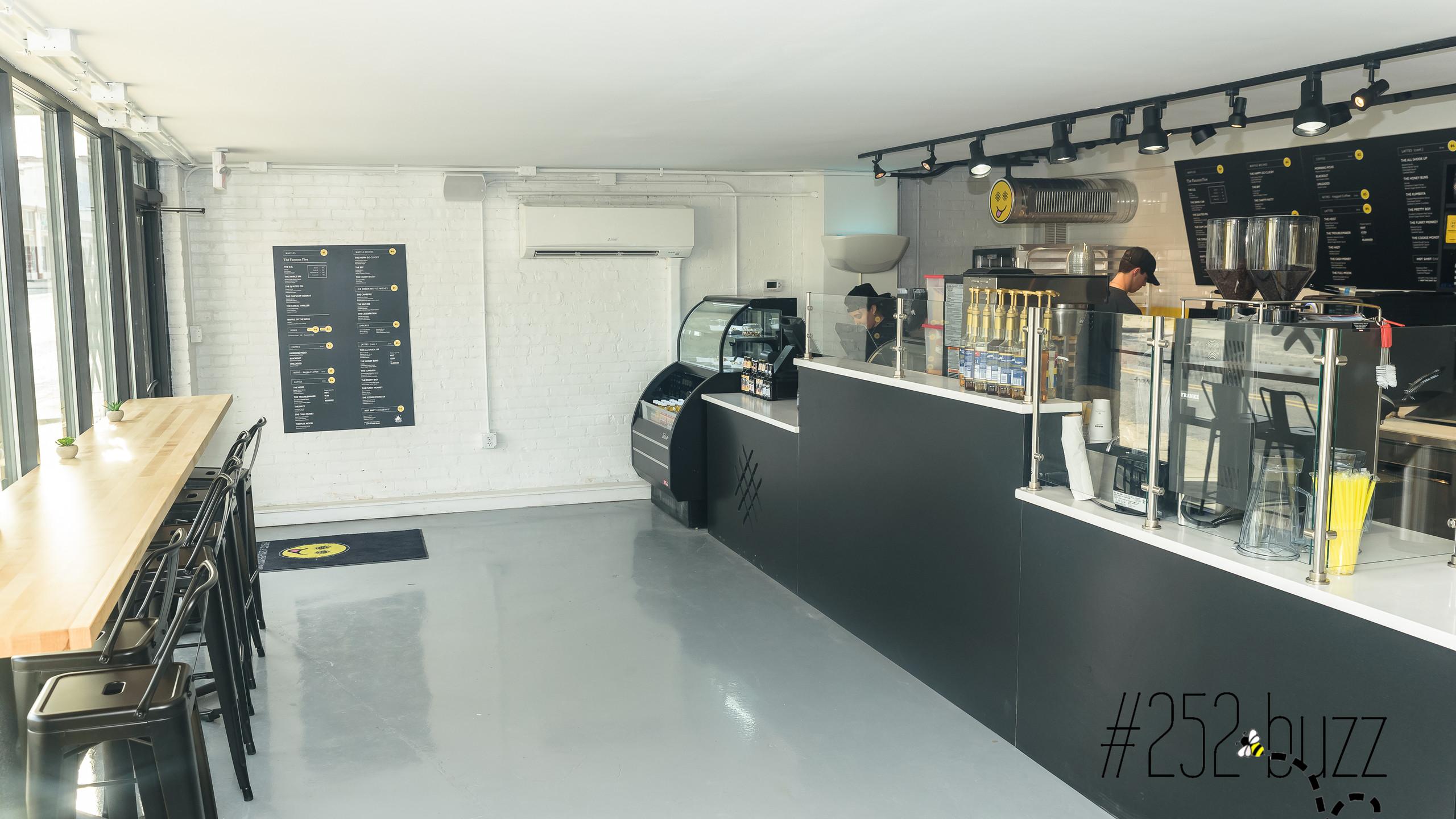 Smash Cafe interior