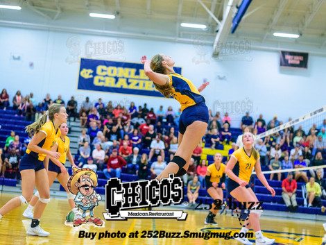 DH Conley volleyball takes down South Central