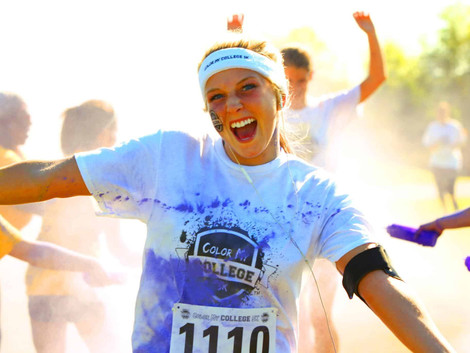 Purple and gold color run planned for April 8