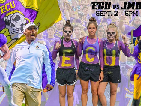 Arrgh you ready for ECU game day?