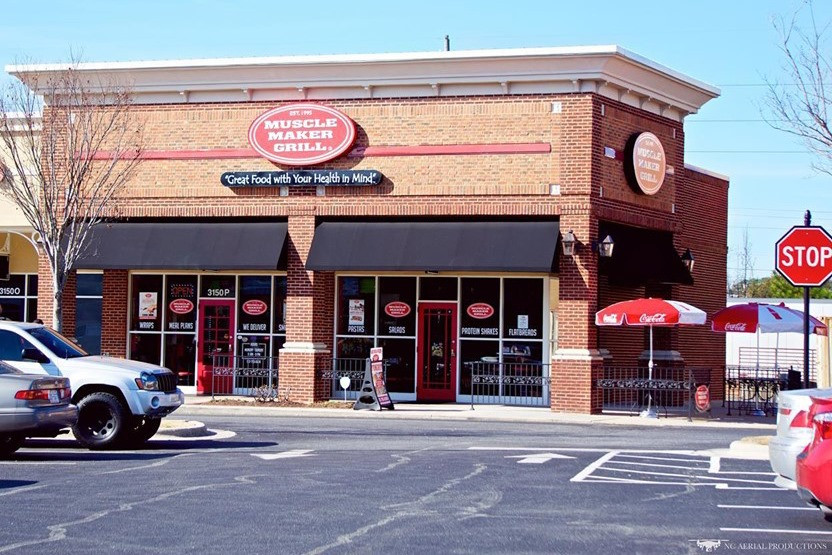 Greenville's Muscle Maker Grill