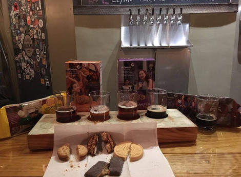Cookies with locally brewed beer? Yes, please