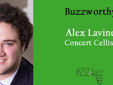 Alex Lavine, Buzzworthy Cellist performing at Carnegie Hall
