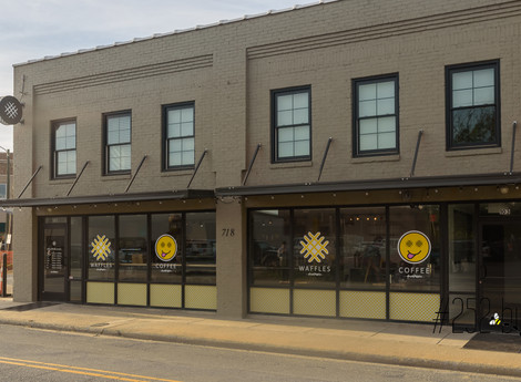 Smash Waffles' first cafe is open in Greenville