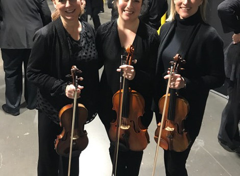 Greenville violinists play concert with Bocelli, Chenoweth