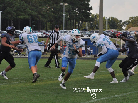 Lightning forces Rose to make return trip to Wilson on Monday; Rampants lead 14-6
