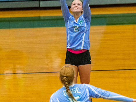 JH Rose volleyball wins five set thriller on the road