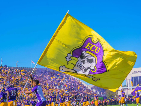 Pirates' 2017 football schedule released
