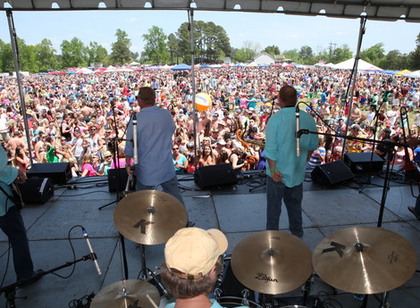 Triangle Beach Music Festival is April 29 in  Greenville