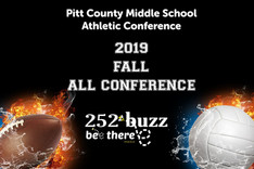 Area middle school athletes honored with all-conference selections