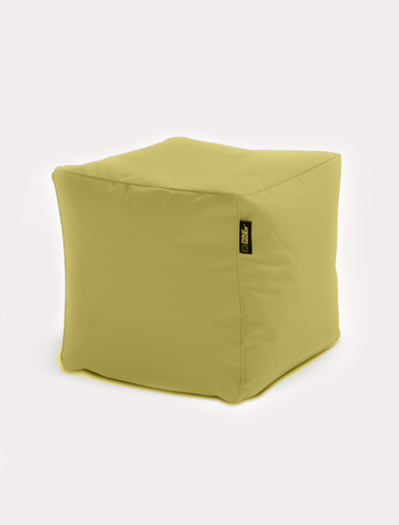 Cube Bean bag Gold