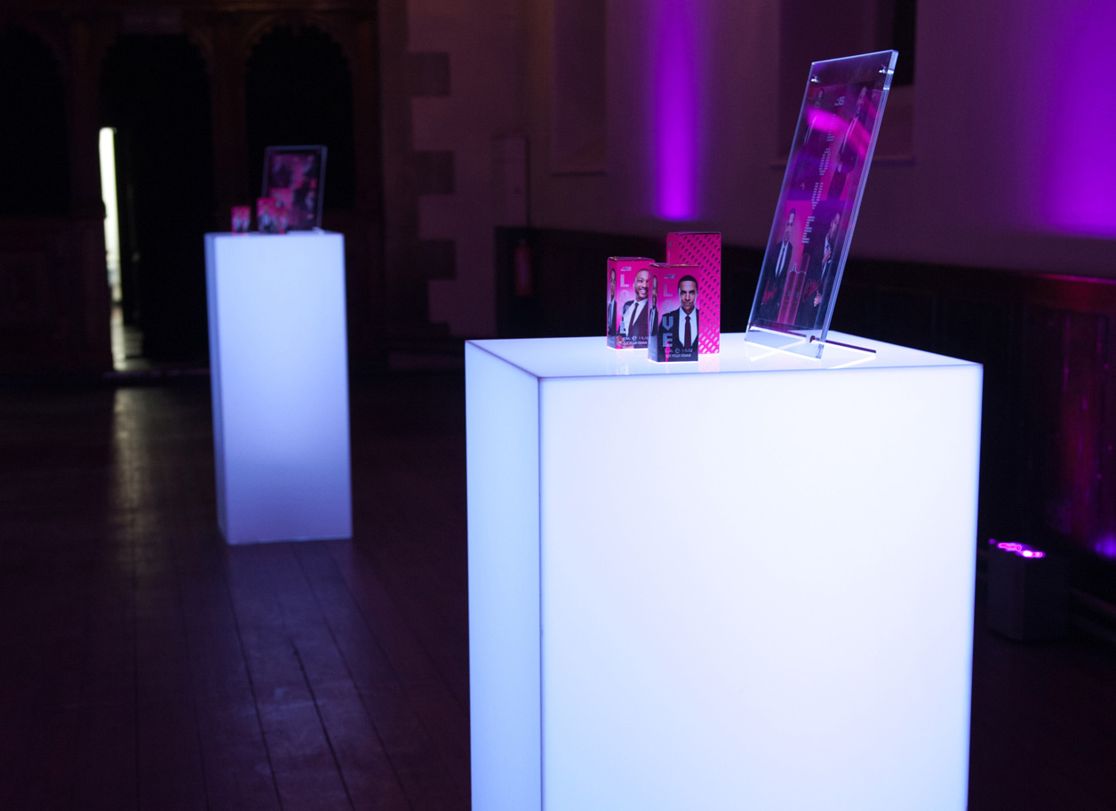 PLINTHS WITH LIGHTING