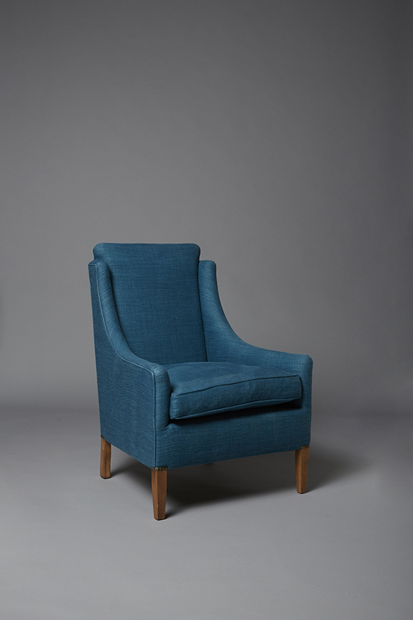 Kobenhavn Teal armchair