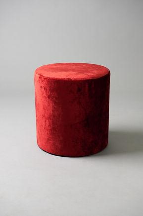 Red round pouf.jpg
