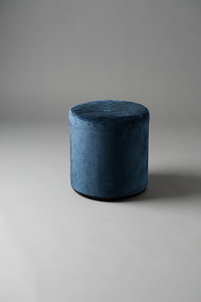 small round pouf velvet living furniture