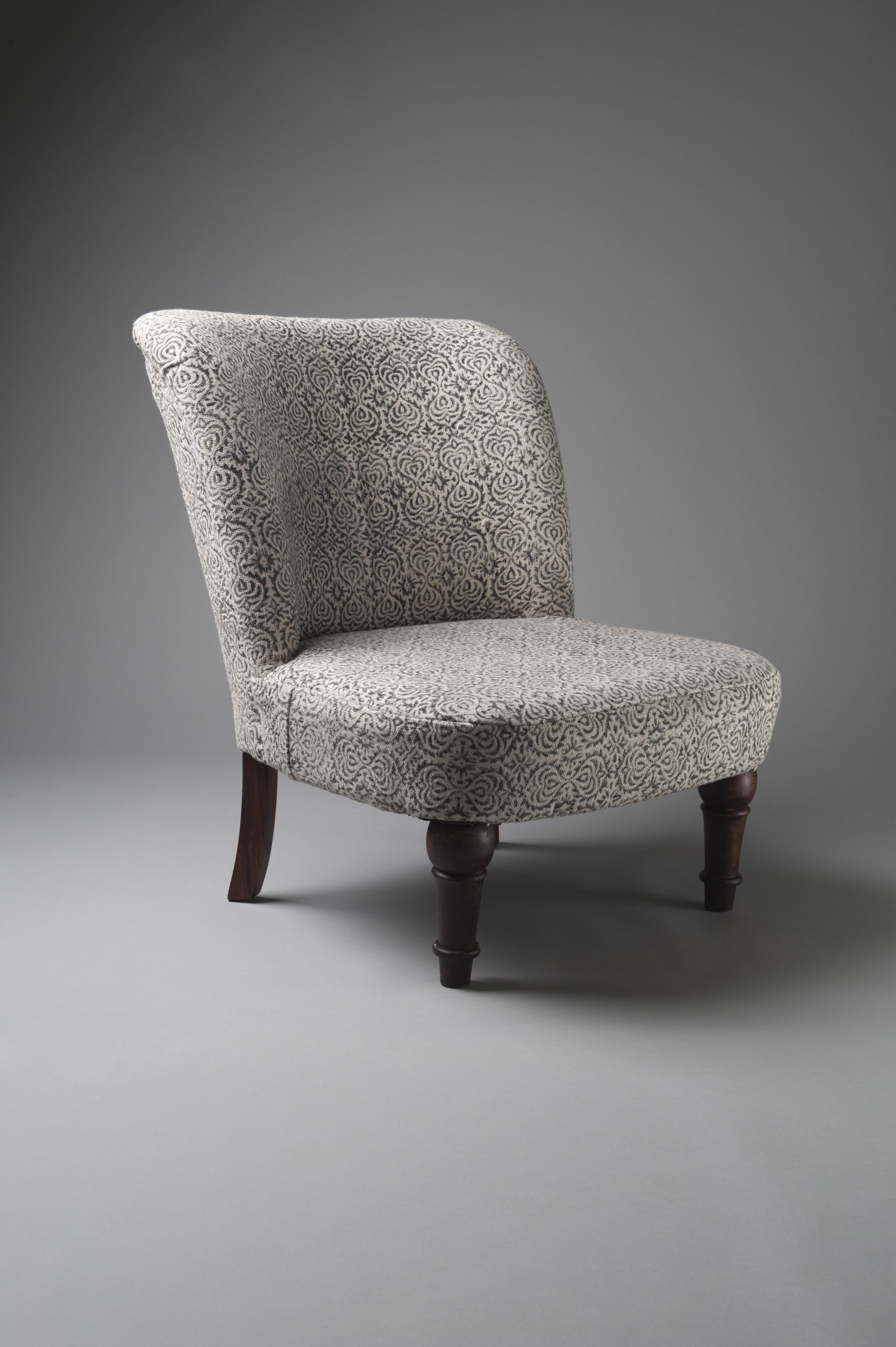 George chair velvet living furniture hir