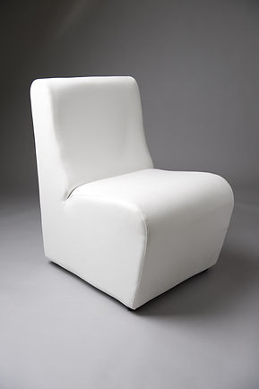 WHITE SOFA CHAIR