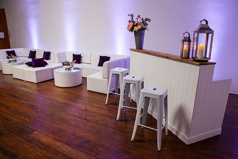 White Wooden Bar
