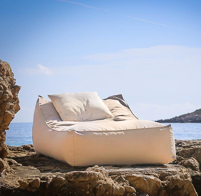 Sunlounger Bean Bag