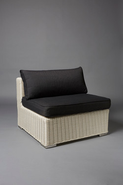 WHITE BASE RATTAN EXTENSION