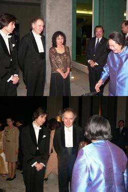 With Thai Princess Galyani Vadhana