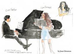 Concert at Spectrum with Nina Berman