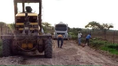 Prefeitura de Fátima inicia recuperação de estradas vicinais na zona rural
